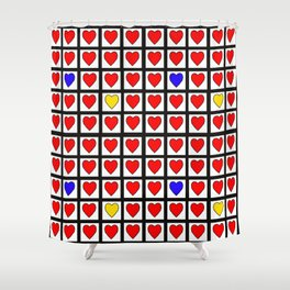 StupidHearth Shower Curtain