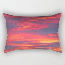 Inferno Sky Rectangular Pillow