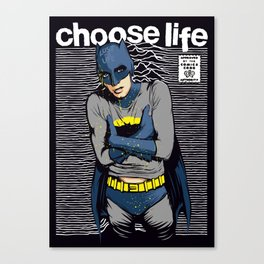 Choose Life Canvas Print