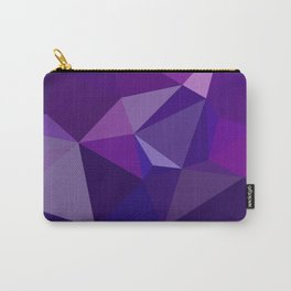 Geometric, polygonal Abstract background.  Carry-All Pouch