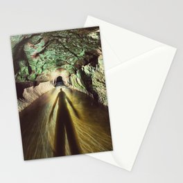 Into the Tunnel Stationery Cards