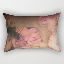 Candy Box Roses Rectangular Pillow