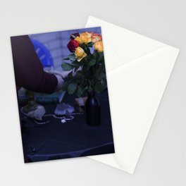 Edgy Roses Stationery Cards