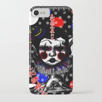 clown iPhone & iPod Cases featuring CLOWN by AKIKO