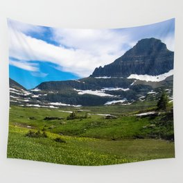Logans Pass, Glacier National Park Wall Tapestry