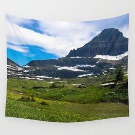Logans Pass, Glacier National Park Wall Tapestry