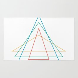 4 triangles Rug
