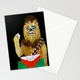 BEER PONG WOOKIE Stationery Cards