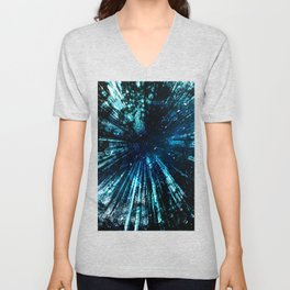 Universum Green Unisex V-Neck