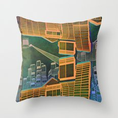 Spatial Structure 27-07-16 Throw Pillow