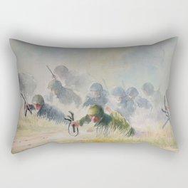 Soldiers Rectangular Pillow