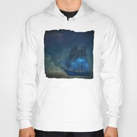 ships Hoodies featuring Ships and Stars by AmandaRoyale