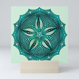 Sand Dollar Mandala Mini Art Print