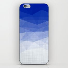Imperial Lapis Lazuli - Triangles Minimalism Geometry iPhone Skin