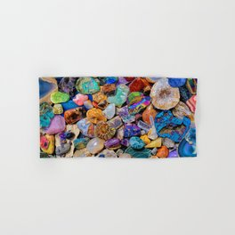 Rocks and Minerals, Geology Hand & Bath Towel