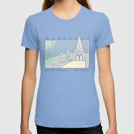 Fisherman's Bastion, Budapest, Hungary T-shirt