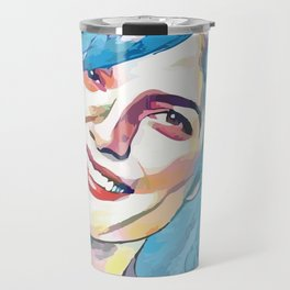 Selma Blair (Creative Illustration Art) Travel Mug