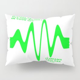 If There Are No Ups and Downs In Life You Are Dead Pillow Sham