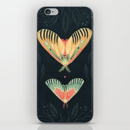 Moth Wings I iPhone Skin