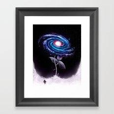 My Little Flower Framed Art Print