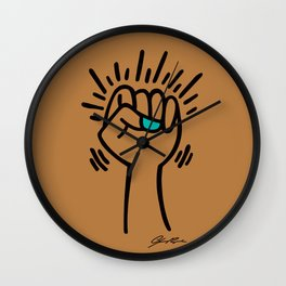 Phenomenal Womxn | Caramel Wall Clock