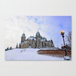 Parliament Hill Canvas Print