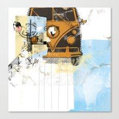 beep beep Canvas Print