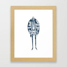 Goatman Framed Art Print