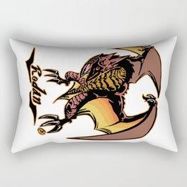 Rodan Kaiju Print FC Rectangular Pillow