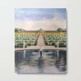 Sanssouci palace Metal Print