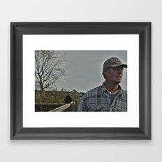 Allotment Andy Framed Art Print