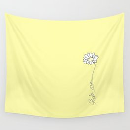 Pick myellow Wall Tapestry