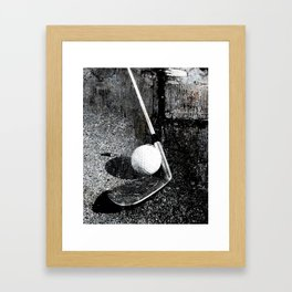 The golf club Framed Art Print