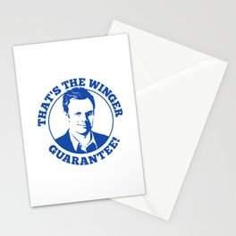 Winger Guarantee Stationery Cards