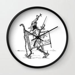 Dink Press Logo 1 Wall Clock