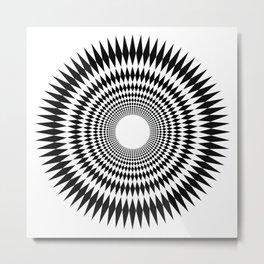 Hypno Zone Metal Print