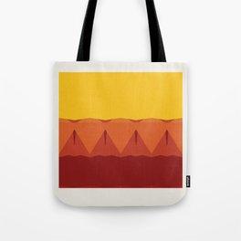 Geometric Afternoon Print Tote Bag