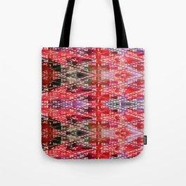 Bright Folk Pattern Tote Bag