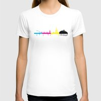 edinburgh T-shirts featuring Edinburgh CMYK by Kamero Designs