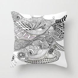 Cephalopod Throw Pillow