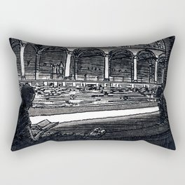 Reading Window Rectangular Pillow