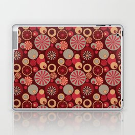 Circle Frenzy - Red Laptop & iPad Skin