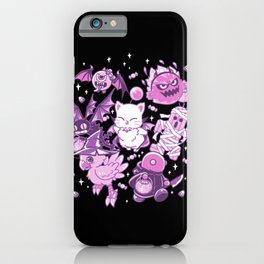 Final Fantasy Moogle Chocobo Tonberry Cactuar Bomb BatEye Gimme Cat Trick or treat iPhone Case