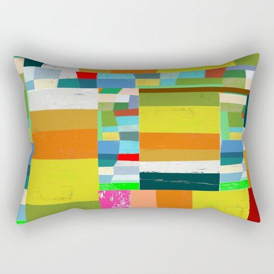 COLOR TANGLE  Rectangular Pillow