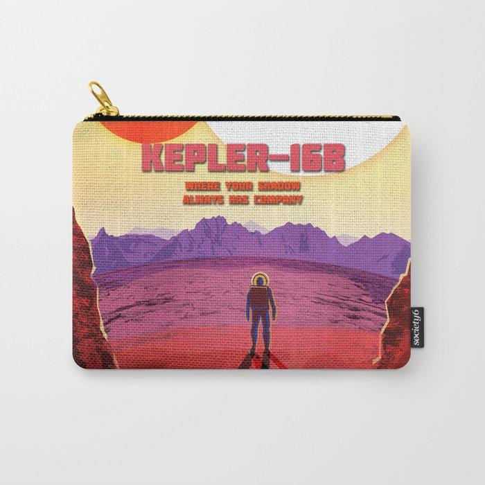 NASA/JPL Poster Kepler #1 Carry-All Pouch