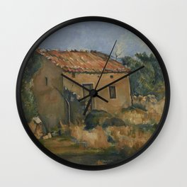 Abandoned House near Aix-en-Provence Wall Clock