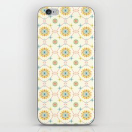 Vintage Peranakan Tiles iPhone Skin