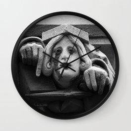 Creepy Crier Wall Clock