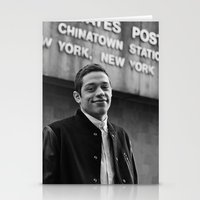 snl Stationery Cards featuring B&W by F*** Me Pete Davidson