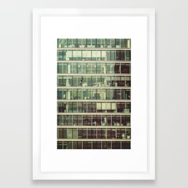 London Skyscraper Framed Art Print